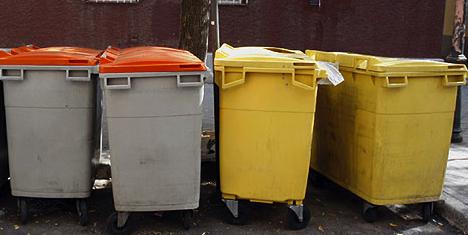 Cubos de basura ciudadano normal - Cubos de basura industriales ...